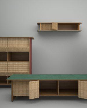 """""""TAU"""" Cabinets"""