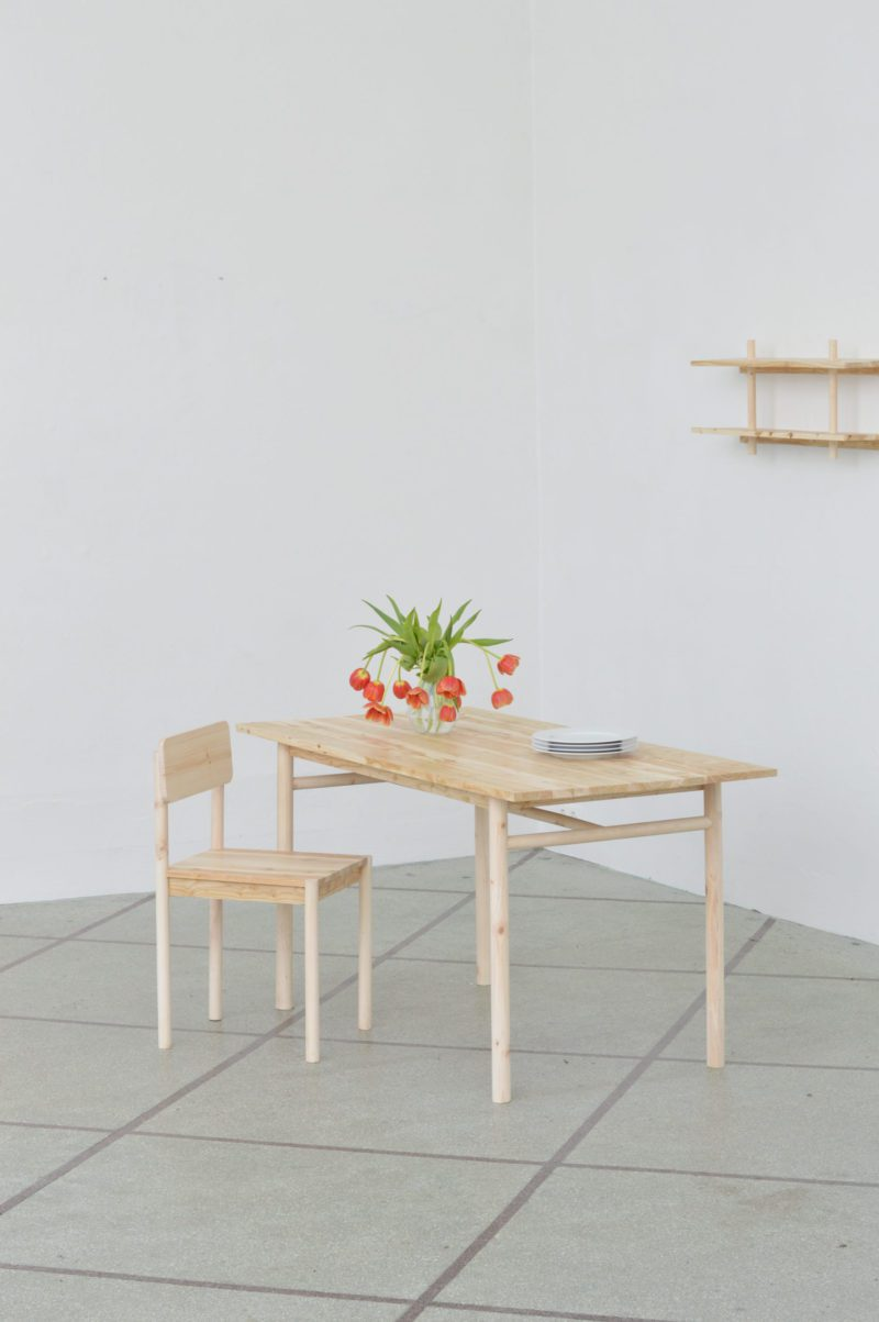 Skógarnytjar: Chair Prototype #01