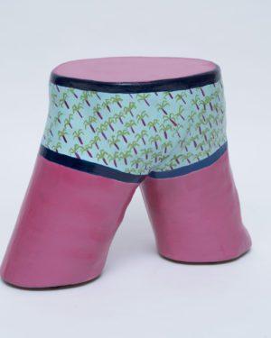 """""""Beach Boy"""" table/chair/sculpture"""