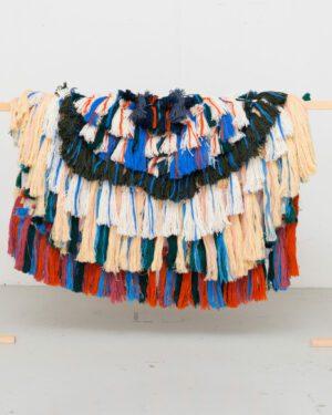 """Weaving DNA"" cape"