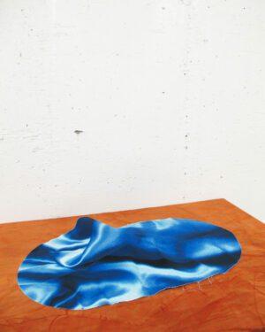 """""""Cotton satin"""" textile shape"""