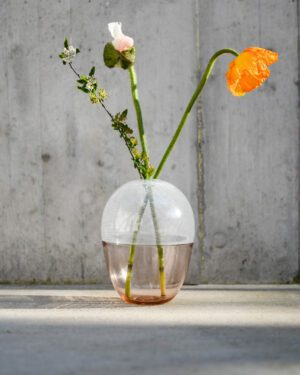 """""""Brina"""" Murano Glass Vase / Medium"""