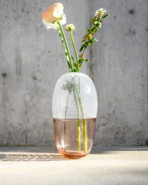 """Brina"" Murano Glass Vase / Tall"