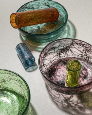 """Tasting Threads"" Deep Bowl, Murano Tableware"