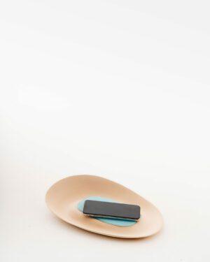 Emirati Clay x Italian Murano Glass - Phone Charger