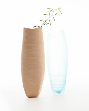 Emirati Clay x Italian Murano Glass - Vases