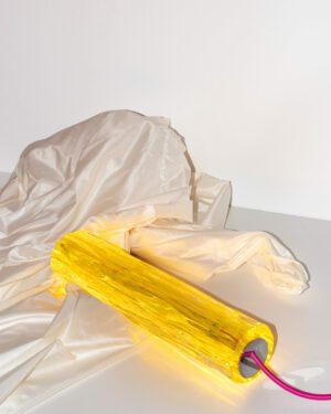 """""""BASTUM"""" Yellow Lamp"""