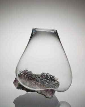 """""""Amethyst"""" vase from the Crystals Collection"""