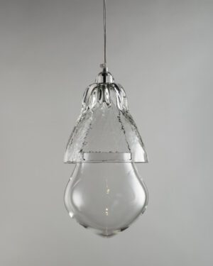 Rfc+ 04, suspended blown glass lamp