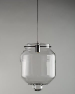 Rfc+10, suspended blown glass lamp