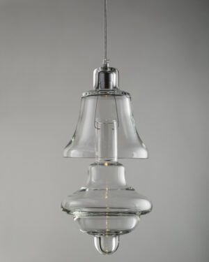 Rfc+ 11, suspended blown glass lamp