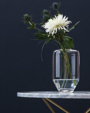Vaso Carrara small , glass edition