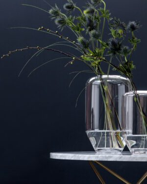 Vaso Carrara large, glass edition
