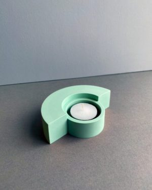 Candle holder - Mint