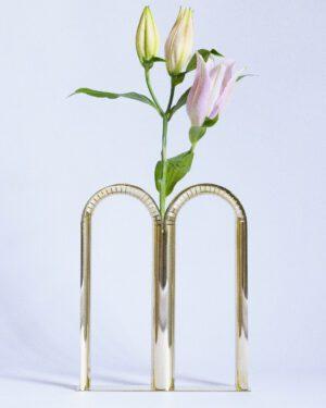 Bicaudata Brass Handmade Vase
