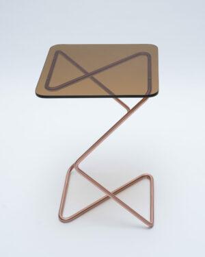 """Crystal Table"" Brown"