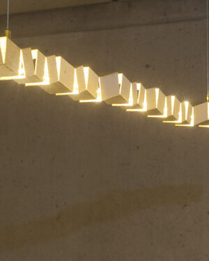 """TETRIS"" ceiling lamp"