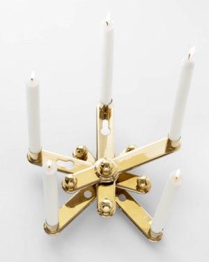 """""""REmix Candleholder Vol 2: 5 Candles"""""""