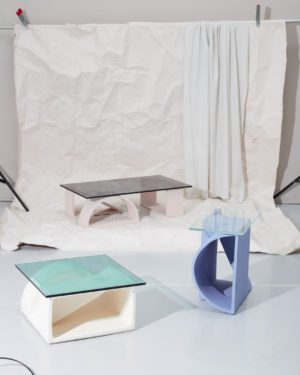 'Mould' Ceramic Side Table