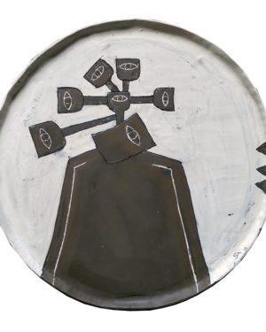 """""""Fertile lands of Hatay"""" plate"""