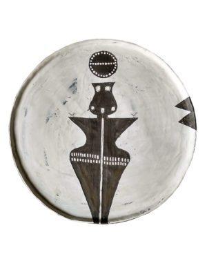 """""""Goddess of Hittite"""" plate"""