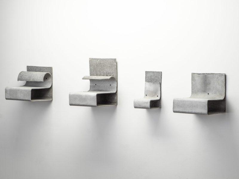 """Entrance 3"" sculptural shelf"