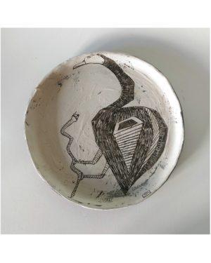 """Beasts of Cappadocia - Bird"" plate"