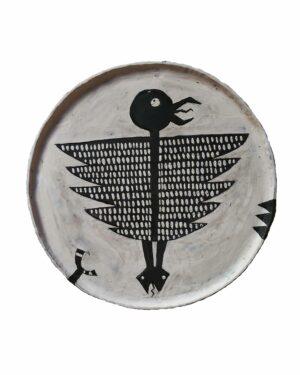 """Beasts of Cappadocia - Siamese"" plate"