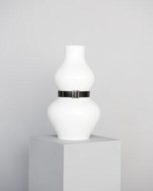 """Early Bird"" Vase with Belt"