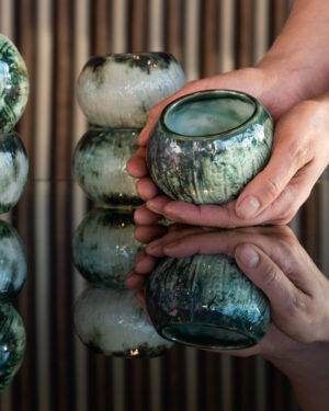 CØCO NUŦS cup – contemporary ceramic stoneware cups designed by Studio Morison