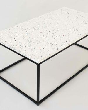 Flecked – Rectangular Side Table
