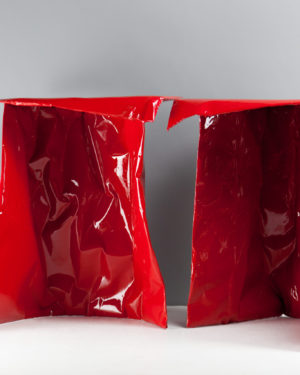 """""""Paper Plastic"""" Table Pair"""