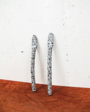 """""""Granite clay twins"""" objects"""