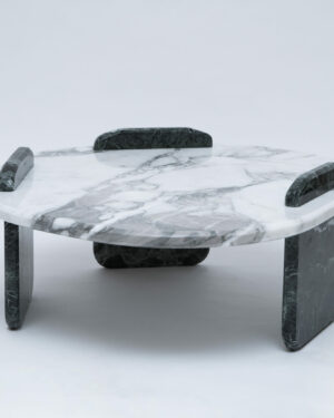 Low marble table